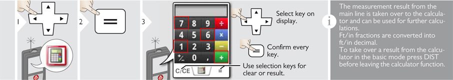 Advanced Functions of the Disto S910 Calculator