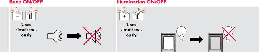 Basic Disto Operations - Beep - Illumination