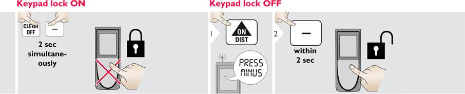 Basic Disto Operations - Keypad Lock