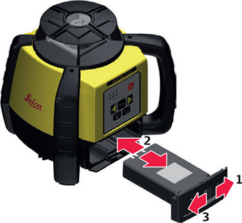 Leica Rugby Battery Guide