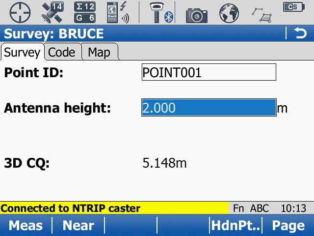 Creating a new NRTK profile - 83